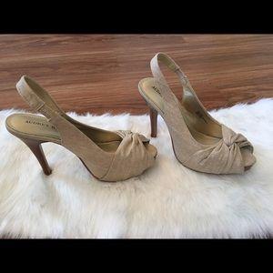 Audrey Brooke slingback heels